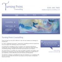 Turning Point Counselling Website