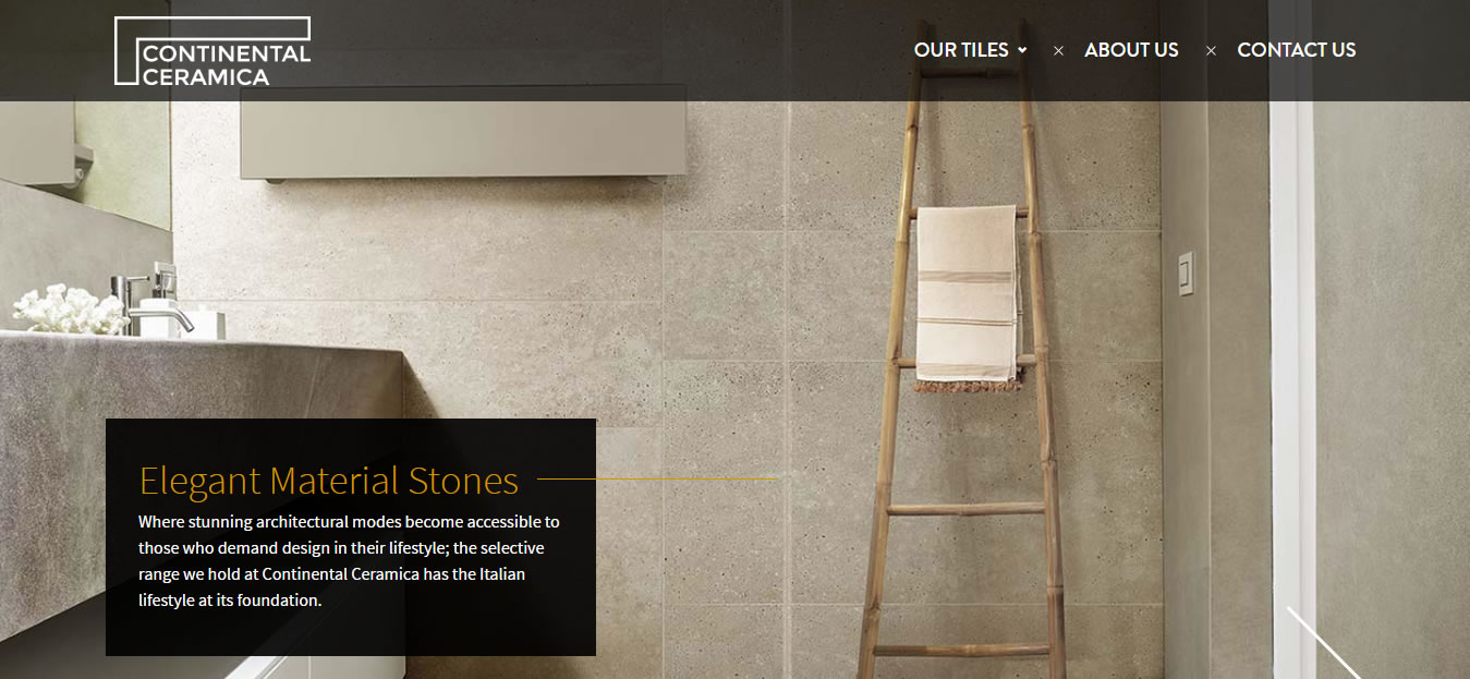 Continental Ceramica Bigcommerce Design